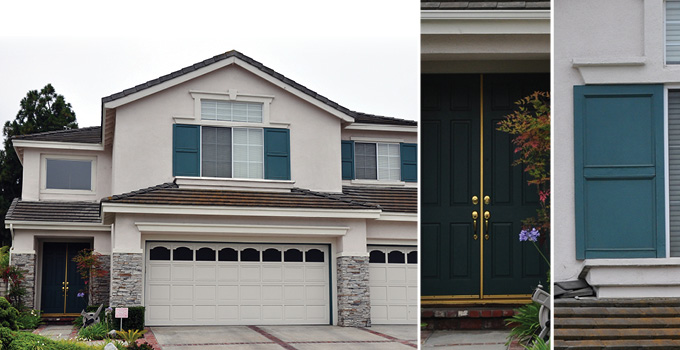 Residential_color_palette on Stucco Exterior Home Designs