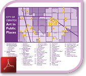 Art in Public Places Map (PDF)