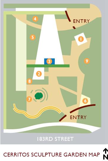 City of Cerritos | Cerritos Sculpture Garden Map Cerritos Mall Map on